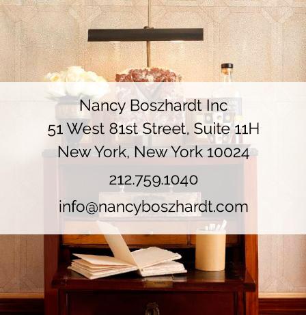 51 West 81st Street Suite 11H New York, NY 10024 212-759-1040 info@nancyboszhardt.com